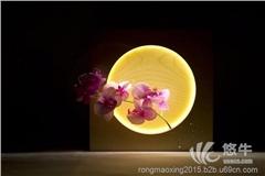 供应LED创意礼品木质台灯、红木礼品