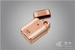 供应金希高档礼品充电电子点烟器打火机