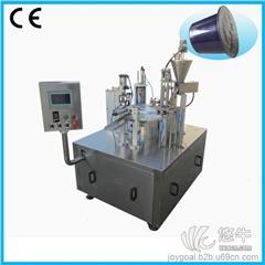 供应众冠BHZ-1转盘式咖啡胶囊封口机