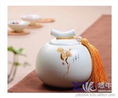 茶叶罐金属罐 产品汇 供应陶瓷茶叶罐厂家 定做陶瓷罐子茶叶罐 陶瓷茶叶罐