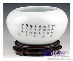 陶瓷大缸 陶瓷鱼缸 陶瓷工艺礼品