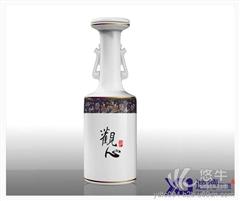 景德镇陶瓷酒瓶定做