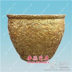 供应安德陶瓷adcy007景德镇手绘陶瓷大缸