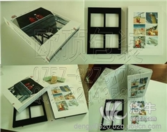 供应包装.建材样品盒,样板夹,色卡册