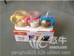 供应七丁乐T-102创意调味瓶厨房调味罐三件套