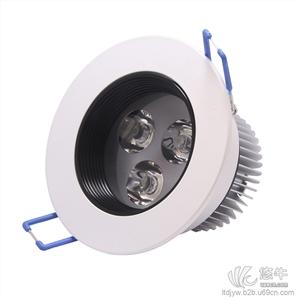 供应勒达MLCX-JS220DF(2)4Led天花灯筒灯射灯3W