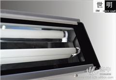 供应常州世明TL009双管T8T5荧光灯铝型材