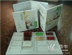 三折石英石样品册 石材样品盒