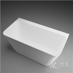 供应酷石卫浴BS-S85人造石浴缸