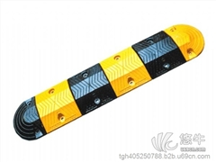 供应橡胶减速带上海交通安全设施