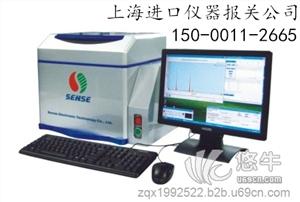 上海进口液相色谱仪代理清关公司