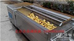 供应超越1500L土豆毛刷清洗机萝卜清洗机