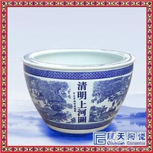 定做景德镇陶瓷大缸 手绘陶瓷大缸
