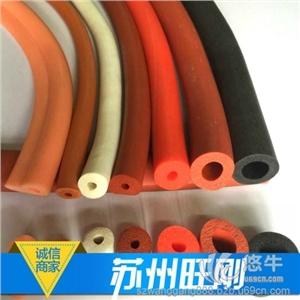苏州旺刚耐高温低密度超柔软硅胶海绵管厂价直销、阻燃高抗撕硅胶发泡管价格