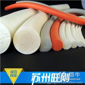 苏州旺刚12mm硅胶发泡条公司、5mm真空吸盘密封条制造厂家