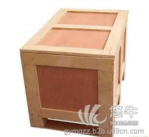 上海松江广缘包装木箱厂包装箱免熏蒸欧标木箱