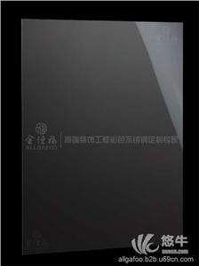 供应黑钛不锈钢镜面板8K不锈钢镜面