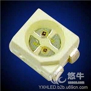 供应渝兴辉YXH-SRG3528W贴片3528红绿双色LED