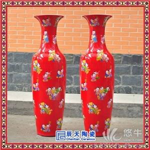 定做批�l春��Y品陶瓷花瓶