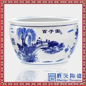 定做陶瓷装饰礼品大缸