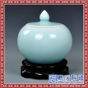 青花手绘陶瓷商务礼品花瓶定做
