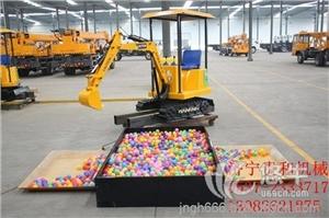 供应贵和儿童游乐挖掘机