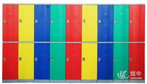 供应塑料储物柜重庆健身房更衣柜