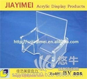 亚克力个人名片包装盒,定制名片盒 有机玻璃盒子无亚克力名片盒 有机玻璃名片盒