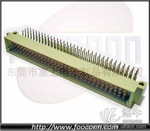 供应东莞DIN41612欧式插座三排96针39690度弯公三排