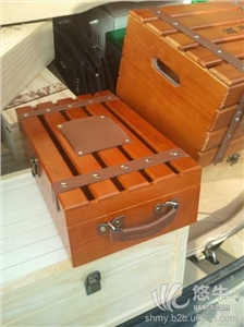 木盒厂直销 红酒木盒6支装 高档