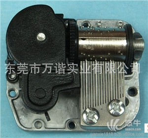 铁罐金属罐 产品汇 供应wanxiew5875环保音乐机芯 音乐铃 铁罐音乐盒