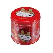 厂家定做马口铁食品罐 4色圆形礼品铁罐 高档精致圆形罐