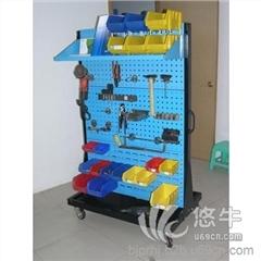 供应整理架0-07双面移动物料架五金工具挂板架