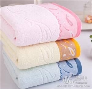 14支全棉加厚加大小鱼浴巾