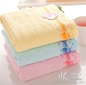 14支纯棉蝴蝶结浴巾