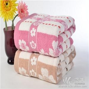 提花纯棉浴巾