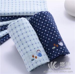 深色茶壶男士纯棉毛巾