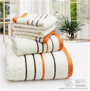 供应天然竹纤维美容毛巾 礼盒装  防螨抗菌创意礼品毛巾
