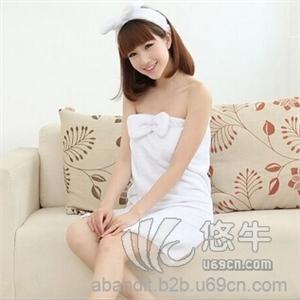 女士浴袍睡衣 新款珊瑚绒吸水浴巾