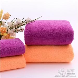 新款珊瑚绒浴巾