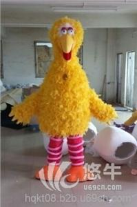供应大黄鸟人偶服装