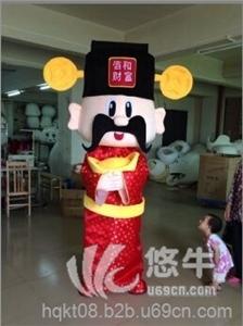 供应广州环球动漫卡通人偶服装财神